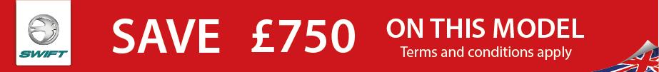 Save £750 on Swift Sprite