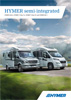 2014 Hymer semi-intergrated motorhome