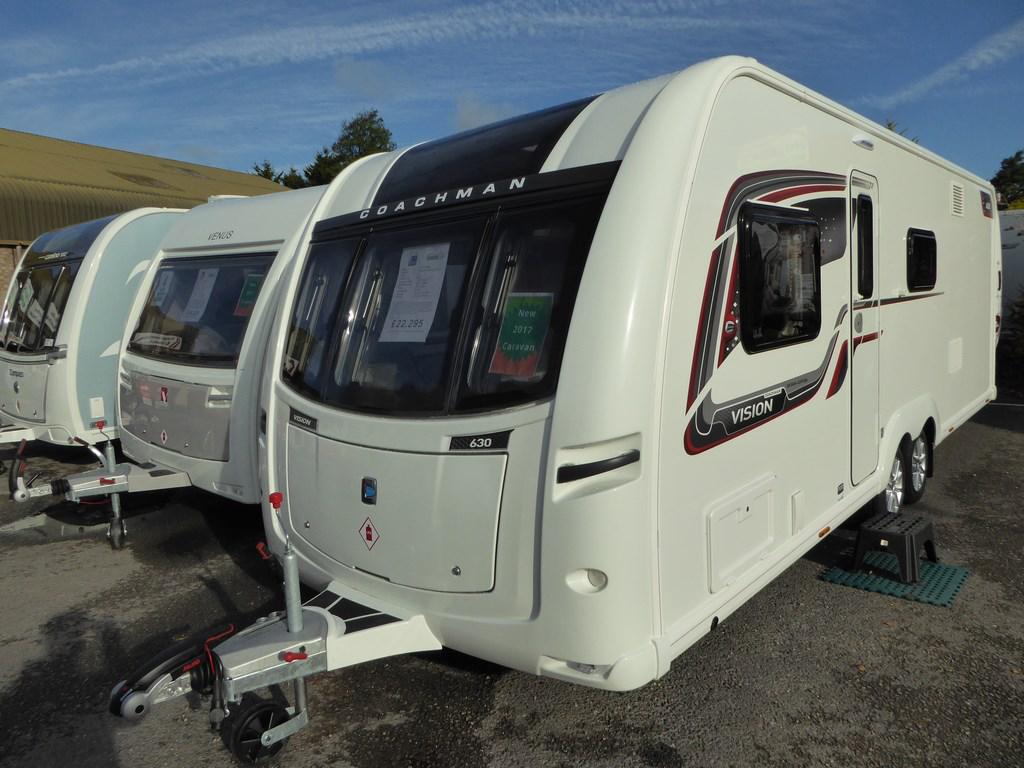 2017 Coachman Vision Design Edition 630 New Carvans Highbridge Caravan Centre Ltd