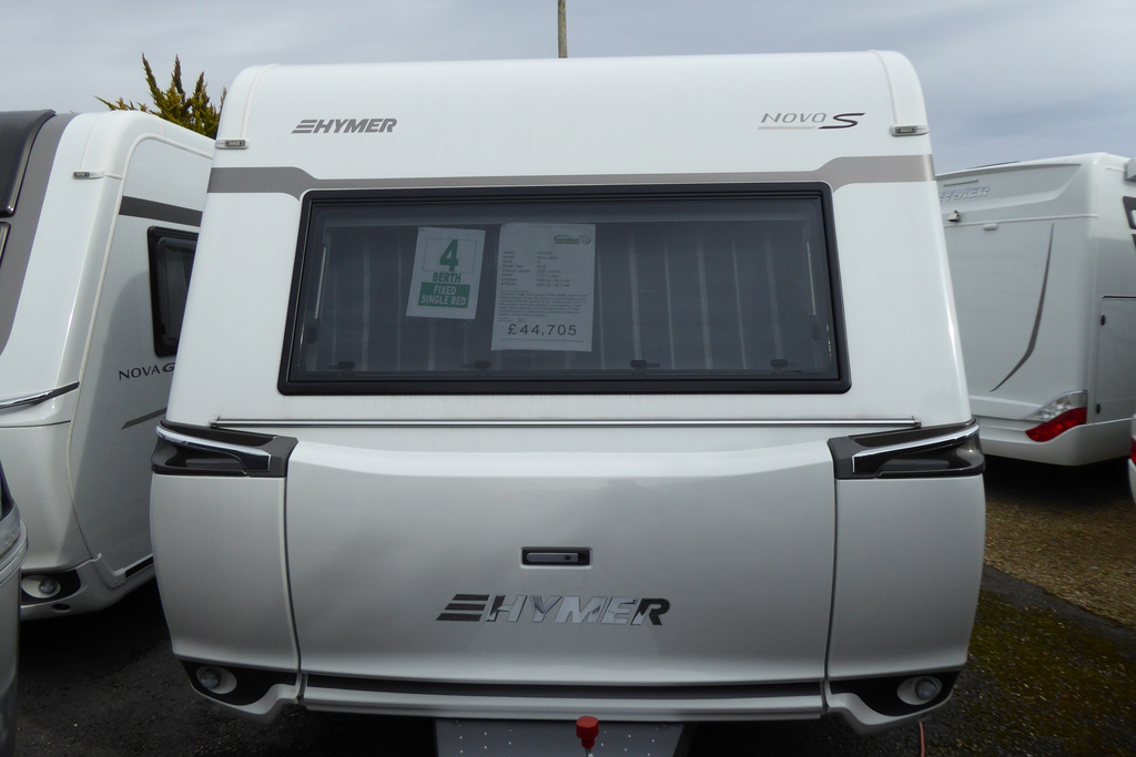 2018 Hymer Nova S 620 | New Carvans | Highbridge Caravan Centre Ltd