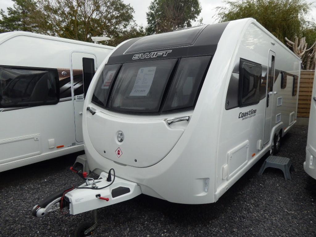 5042a9c4c9 2018 Swift Coastline Design Edition Q6 FB New Caravan