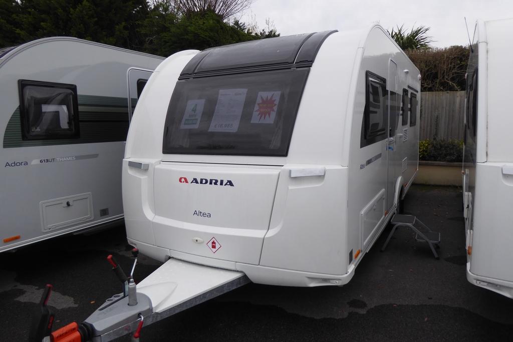 2019 Adria Altea 552 UP Trent | New Carvans | Highbridge