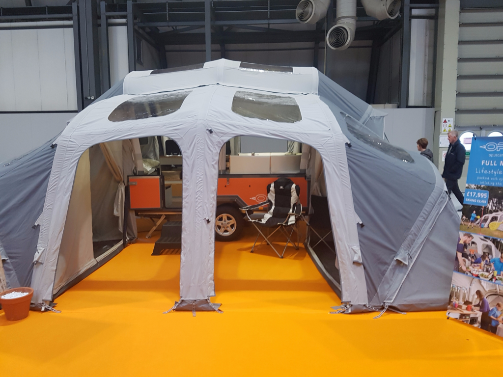 2017 Opus Air Full Monty Orange Used Folding Campers
