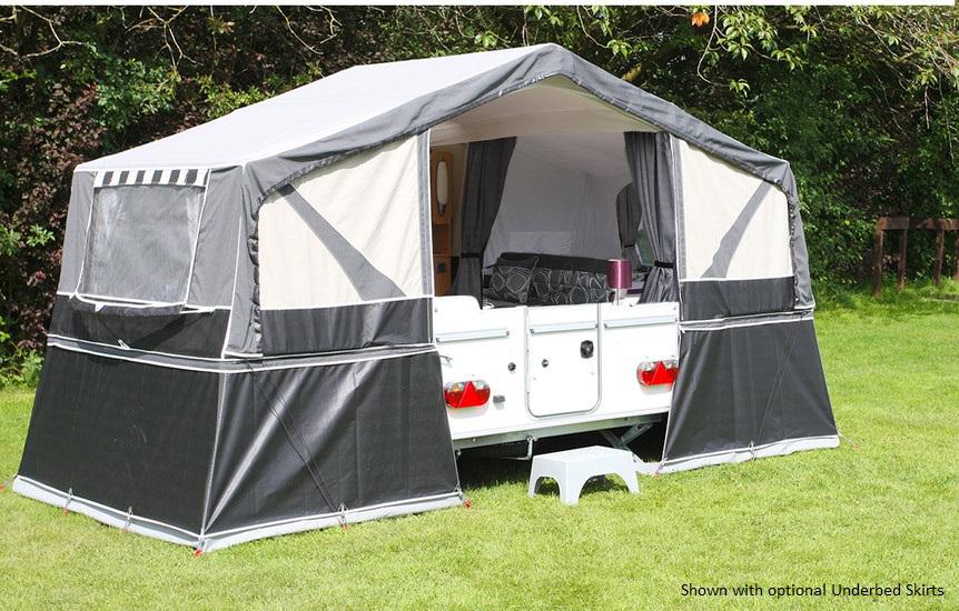 2017 Pennine Fiesta New Folding Campers Highbridge