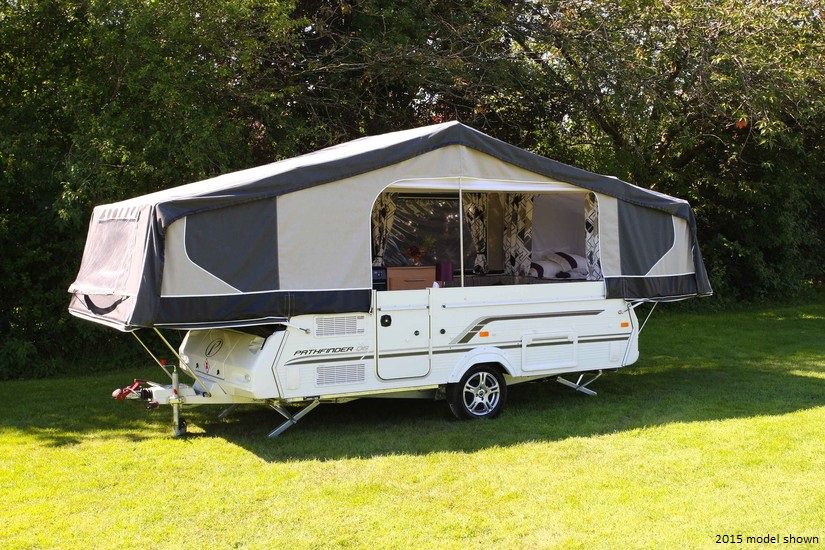 2017 Pennine Pathfinder New Folding C&er & 2017 Pennine Pathfinder | New Folding-campers | Highbridge Caravan ...