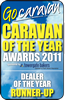 Dealer of the Year Runner Up 2011 by Go Caravan