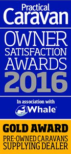 Practical Caravan New Caravans: Supplying Dealer Silver Award 2016
