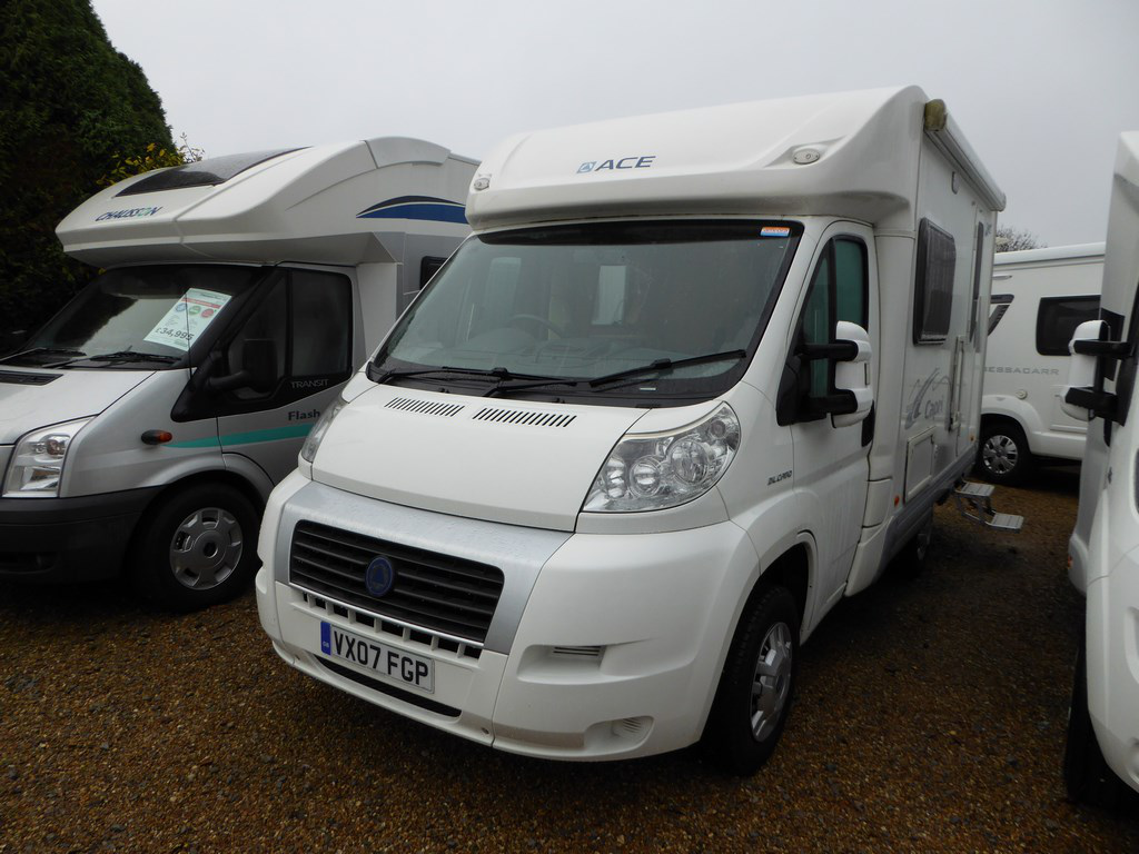 2007 ace capri used motorhomes highbridge caravan