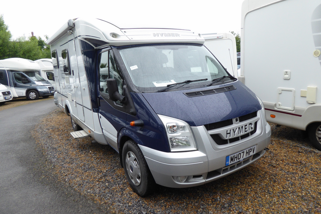 2007 hymer van 572 used motorhomes highbridge caravan centre ltd