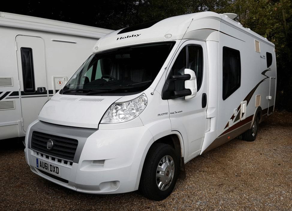99db1fea011 2011 Hobby Van Exclusive | Used Motorhomes | Highbridge Caravan ...