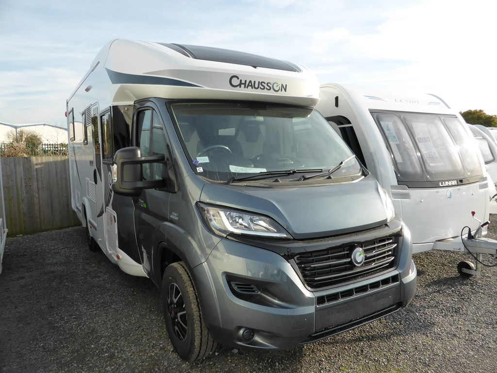 Perfect  Hymer Tramp SL 668  New Motorhomes  Highbridge Caravan Centre Ltd