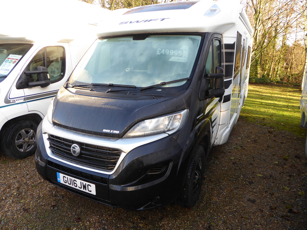 Excellent  Swift Kontiki 625  New Motorhomes  Highbridge Caravan Centre Ltd