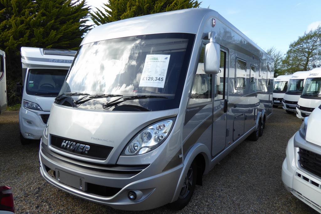 2018 Hymer B-Class Premium 798 | New Motorhomes | Highbridge Caravan